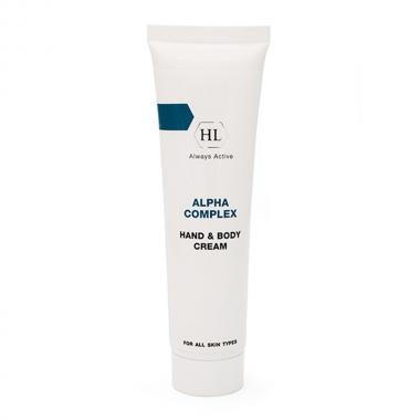 Крем для рук и тела - Holy Land ALPHA COMPLEX Hand & Body Cream, 100 мл