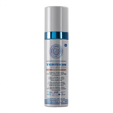 Тонирующий успокаивающий крем с SPF 50 - Tebiskin UV-Sooth Teintee SPF 50, 50 мл