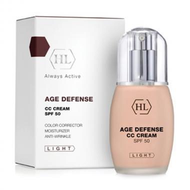 Корректирующий крем - Holy Land AGE DEFENCE CC Cream Light, 50 мл