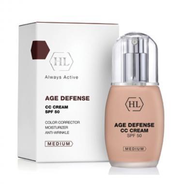 Корректирующий крем - Holy Land AGE DEFENCE CC Cream Medium, 50 мл