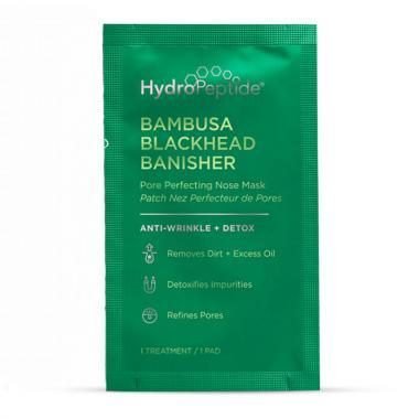 Маска против черных точек - HydroPeptide Bambusa Blackhead Banisher Pore Perfecting Nose Mask, 8 шт