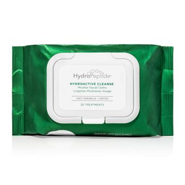 Мицеллярные салфетки - HydroPeptide HydroActive Cleanse Micellar Facial Towelettes, 30 шт