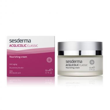 Крем питательный с гликолевой кислотой - Sesderma ACGLICOLIC CLASSIC Nourishing Cream, 50 мл