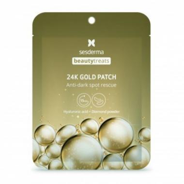 Маска-патч под глаза - Sesderma BEAUTYTREATS 24K Gold Patch, 1 шт