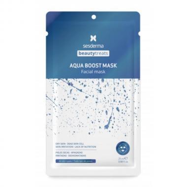 Маска увлажняющая для лица - Sesderma BEAUTYTREATS Aqua Boost Mask, 1 шт