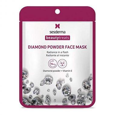 Маска для сияния кожи - Sesderma BEAUTYTREATS Diamond Powder Face Mask, 1 шт
