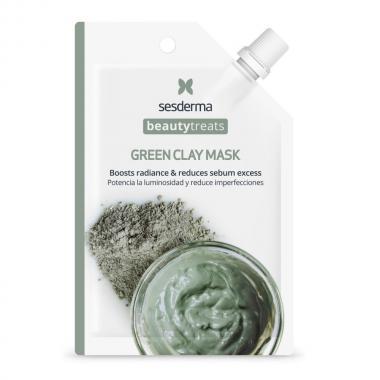 Маска глиняная для лица - Sesderma BEAUTYTREATS Green Clay Mask, 1 шт