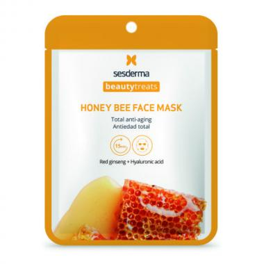 Маска антивозрастная для лица - Sesderma BEAUTYTREATS Honey Bee Face Mask, 1 шт