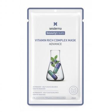 Маска для сияния кожи - Sesderma BEAUTYTREATS Vitamin Rich Complex Mask, 1 шт