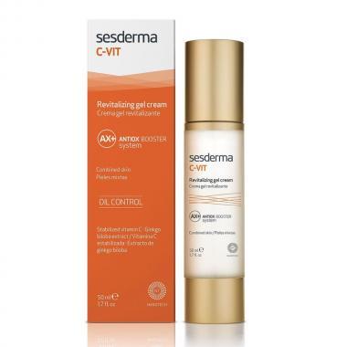 Крем-гель омолаживающий - Sesderma C-VIT Revitalizing Gel Cream, 50 мл
