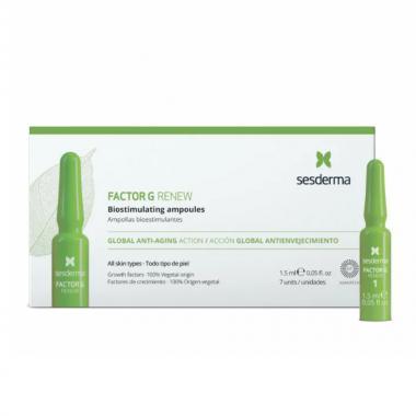 Средство в ампулах биостимулирующее - Sesderma FACTOR G RENEW Biostimulating Ampoules, 7x1,5 мл