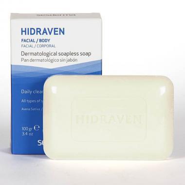 Мыло твердое дерматологическое - Sesderma HIDRAVEN Dermatological Soapless Soap, 100 г