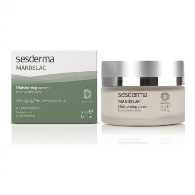Крем увлажняющий с миндальной кислотой - Sesderma MANDELAC Moisturizing Cream, 50 мл