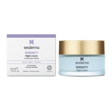 Крем ночной для лица - Sesderma SERENITY Night Cream, 50 мл