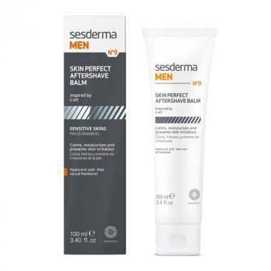 Бальзам после бритья для чувствительной кожи - Sesderma SESDERMA MEN Skin perfect aftershave Balm, 100 мл