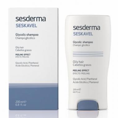 Шампунь с гликолевой кислотой - Sesderma SESKAVEL Glycolic Shampoo, 200 мл