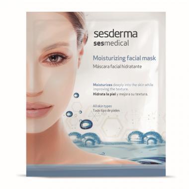 Маска увлажняющая для лица - Sesderma SESMEDICAL Moisturizing Facial Mask, 1 шт