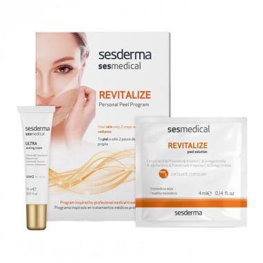 "Программа персональная ""Ревитализация"" (салфетка-эксфолиант - Sesderma SESMEDICAL Revitalize Personal Peel Program, 4 шт + 15мл"
