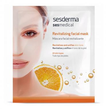 Маска ревитализирующая для лица - Sesderma SESMEDICAL Revitalizing Facial Mask, 1 шт