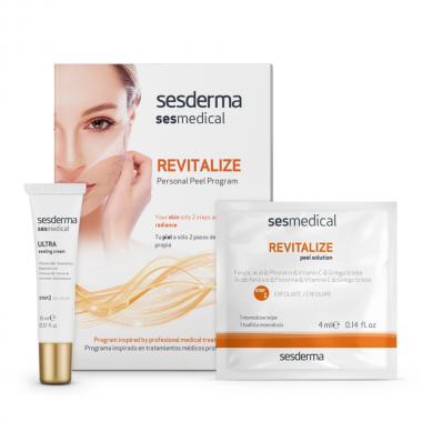 Программа персональная депигментирующая (салфетка-эксфолиант - Sesderma SESMEDICAL Whitening Personal Peel Program, 4 шт + 15мл