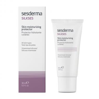 Крем-протектор увлажняющий для всех типов кожи - Sesderma SILKSES Skin Moisturizing Protector, 30 мл
